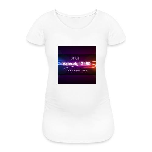Valoudu17180twitch - T-shirt de grossesse Femme