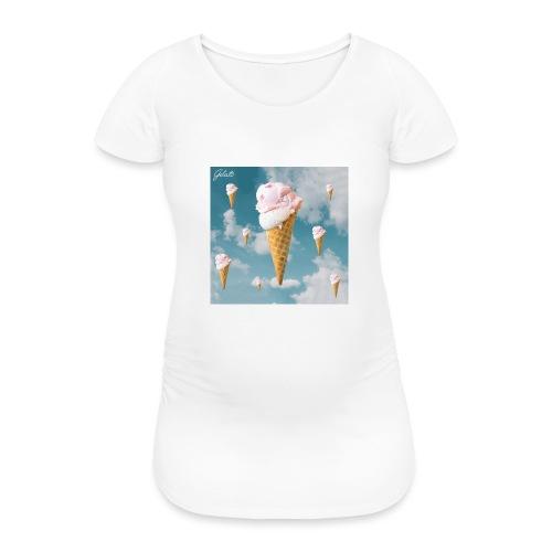 Gelato EP Cover - Frauen Schwangerschafts-T-Shirt