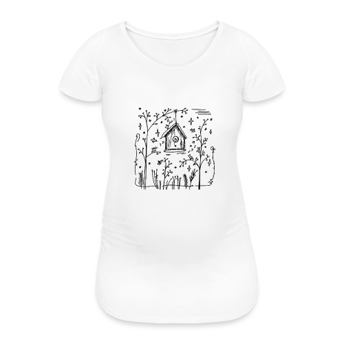 Vogelhuisje - T-shirt de grossesse Femme