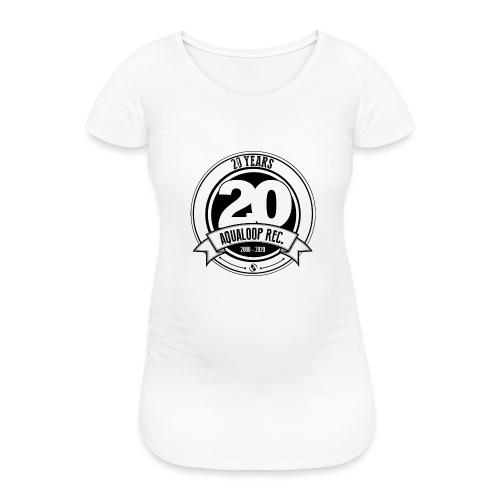 20Y Aqualoop Records - Women's Pregnancy T-Shirt