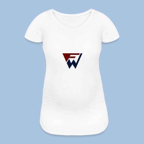 FW Logo - Women's Pregnancy T-Shirt