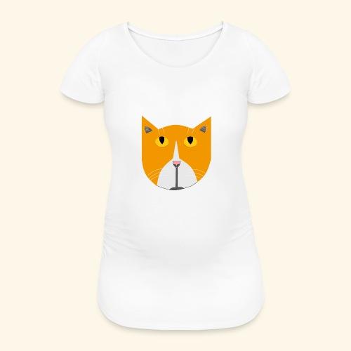 Hieno kissa - Naisten äitiys-t-paita