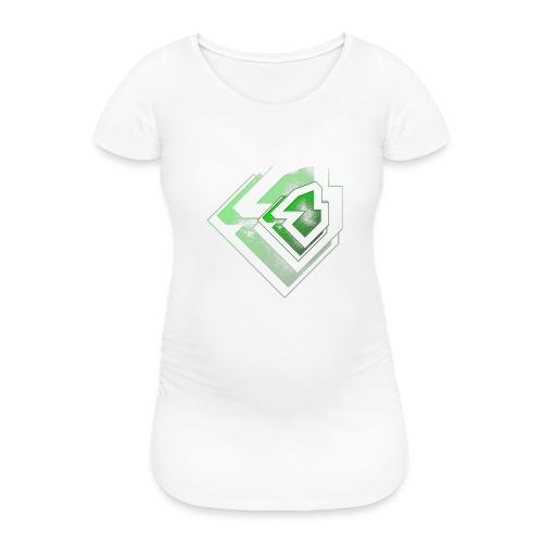 BRANDSHIRT LOGO GANGGREEN - Vrouwen zwangerschap-T-shirt