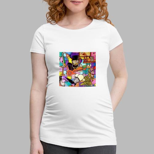 Vunky Vresh Vantastic - Vrouwen zwangerschap-T-shirt