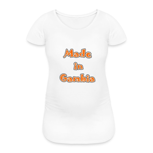 Made in Gambia - Women's Pregnancy T-Shirt