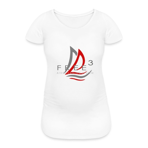 Free3 Aided Sailing System - Maglietta gravidanza da donna