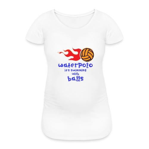 Waterpolo - Maglietta gravidanza da donna