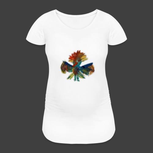 Mayas bird - Women's Pregnancy T-Shirt