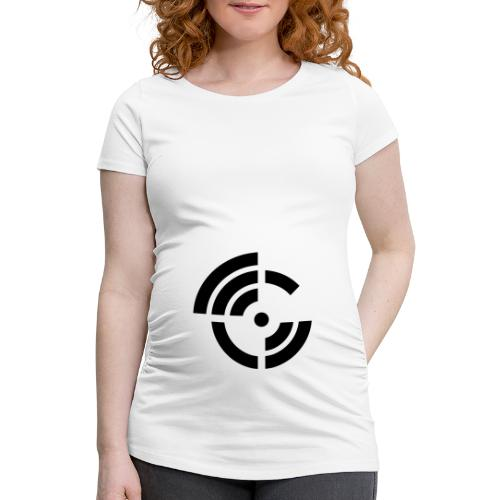 electroradio.fm logo - Women's Pregnancy T-Shirt