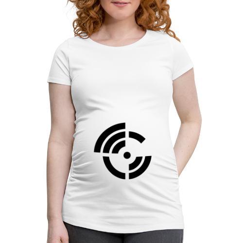 electroradio.fm logo - Women's Pregnancy T-Shirt