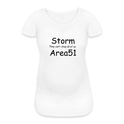 Storm Area 51 - Women's Pregnancy T-Shirt