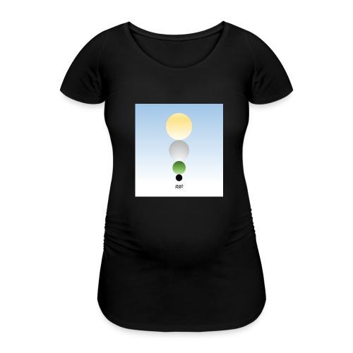 PM Tarot Spheres Verseau - T-shirt de grossesse Femme