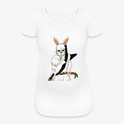 The white Rabbit - T-skjorte for gravide kvinner