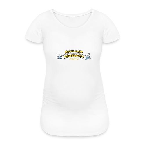 mouilleron muscu logo pour tee shirt 311 - T-shirt de grossesse Femme