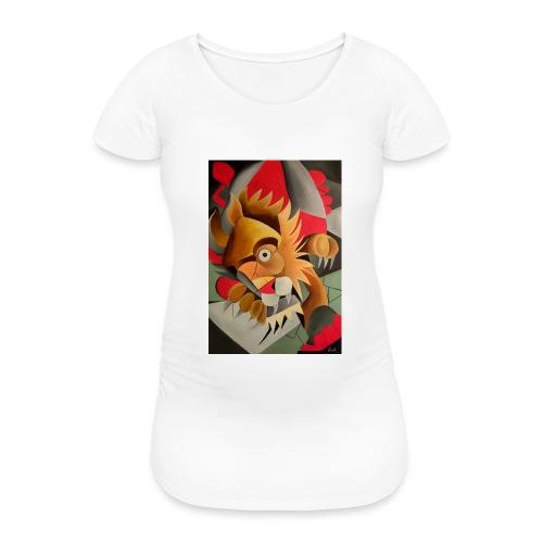 leone - Maglietta gravidanza da donna