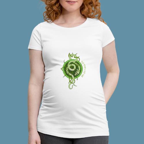 Jormungand logo png - Maglietta gravidanza da donna
