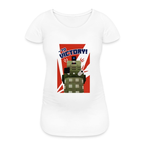 Dalek Mod - To Victory - Women's Pregnancy T-Shirt