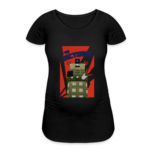 Dalek Mod - To Victory - Women's Pregnancy T-Shirt