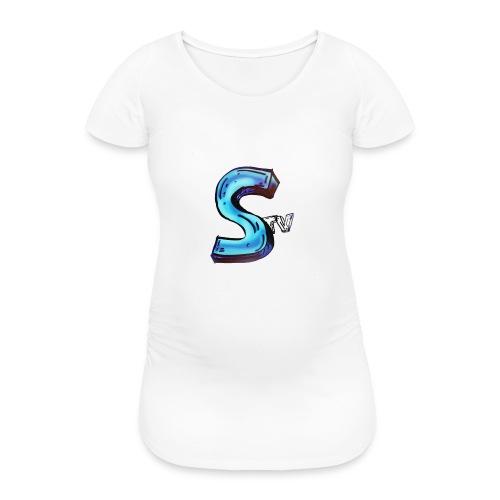 Kanalbild SpexTV Kissen - Frauen Schwangerschafts-T-Shirt