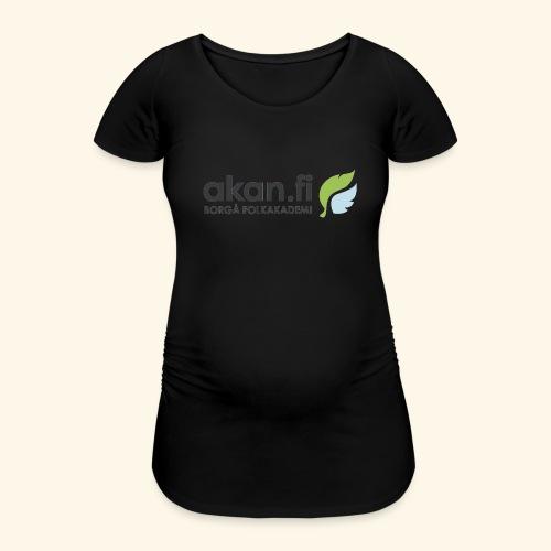 Akan Black - Gravid-T-shirt dam