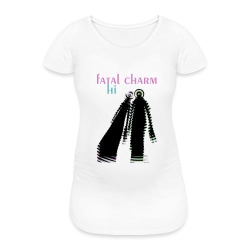 fatal charm - hi album cover art - Women's Pregnancy T-Shirt