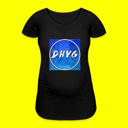 DusHeelVeelgamen New T shirt - Vrouwen zwangerschap-T-shirt