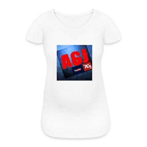 AGJ Nieuw logo design - Vrouwen zwangerschap-T-shirt
