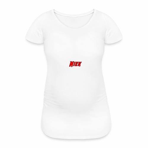 Niek Red - Vrouwen zwangerschap-T-shirt