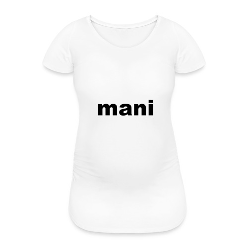 mani vrouwen t-shirt met lande mouwen - Vrouwen zwangerschap-T-shirt