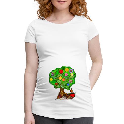 LebensBaum - Frauen Schwangerschafts-T-Shirt