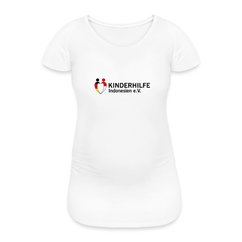 KI e V 300dpi - Frauen Schwangerschafts-T-Shirt