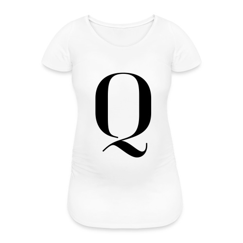 Q - Women's Pregnancy T-Shirt