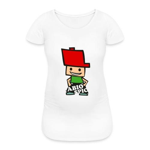 Fabio Spick - Frauen Schwangerschafts-T-Shirt