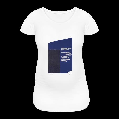 poème bleu 01 - T-shirt de grossesse Femme