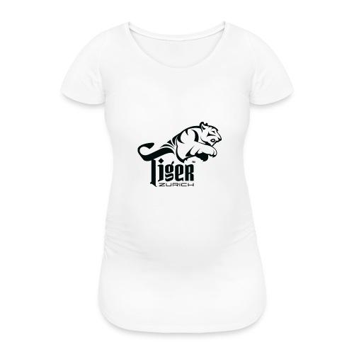 TIGER ZURICH digitaltransfer - Frauen Schwangerschafts-T-Shirt