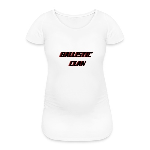 BallisticClan - Vrouwen zwangerschap-T-shirt