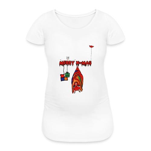 Merry X-MAS - Frauen Schwangerschafts-T-Shirt