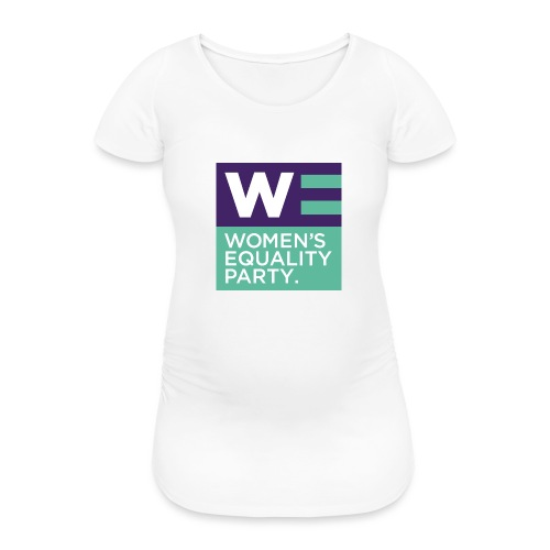 WE_square - Women's Pregnancy T-Shirt