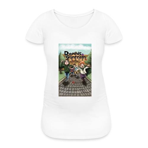 DuG-Band1-Kurztitel - Frauen Schwangerschafts-T-Shirt