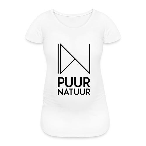 PUUR NATUUR FASHION BRAND - Vrouwen zwangerschap-T-shirt