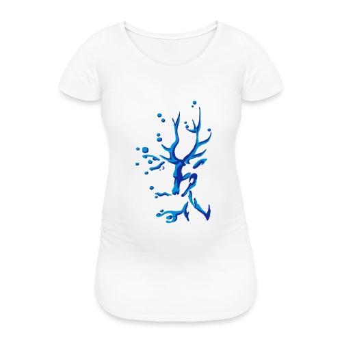 Hirsch - Frauen Schwangerschafts-T-Shirt