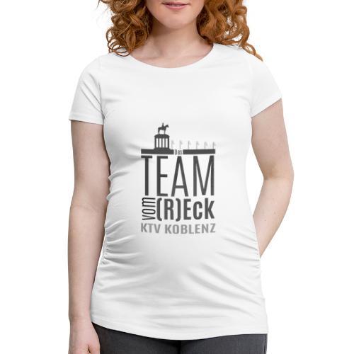Shirt_Logo_2016_grau - Frauen Schwangerschafts-T-Shirt