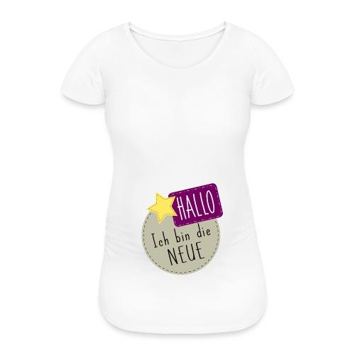 Hallo, ich bin die Neue Babybody Geburt Geschenk - Frauen Schwangerschafts-T-Shirt