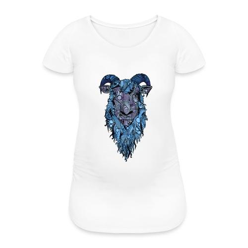 Sau - T-skjorte for gravide kvinner