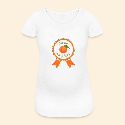 Récompense garde la pêche sur coussin - T-shirt de grossesse Femme