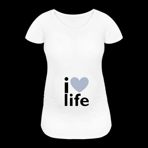 iLOVE clothing range - Women's Pregnancy T-Shirt
