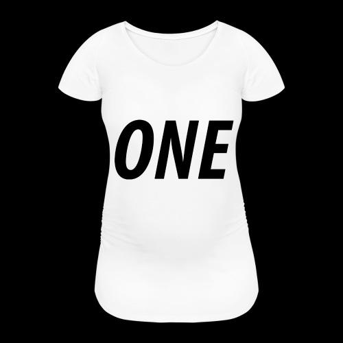 WEAREONE x LETTERS - Vrouwen zwangerschap-T-shirt