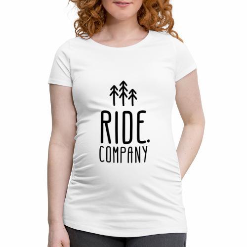 RIDE.company Logo - Frauen Schwangerschafts-T-Shirt