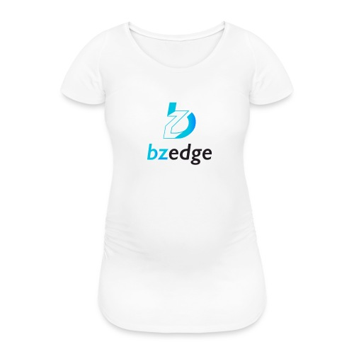 BZEdge Cutting Edge Crypto - Women's Pregnancy T-Shirt