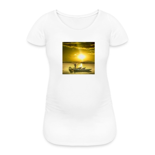Tramonto - Maglietta gravidanza da donna